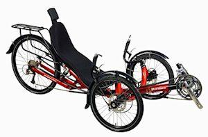 Performer JC26X Suspension Trike